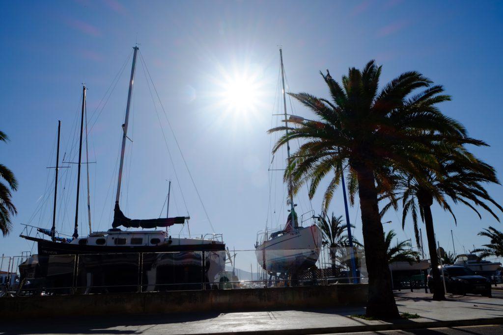 Hafen von Port de Pollenca Mallorca Martin Frick