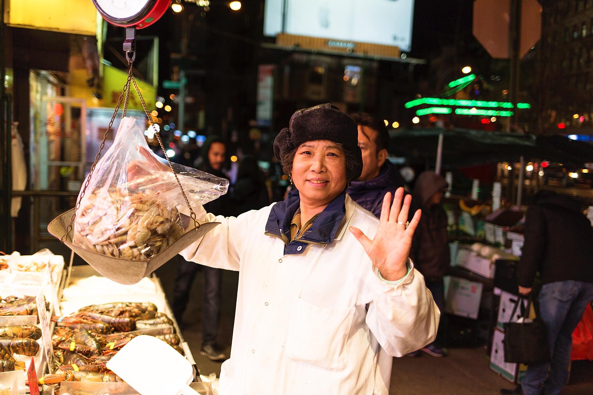 chinatown new york people