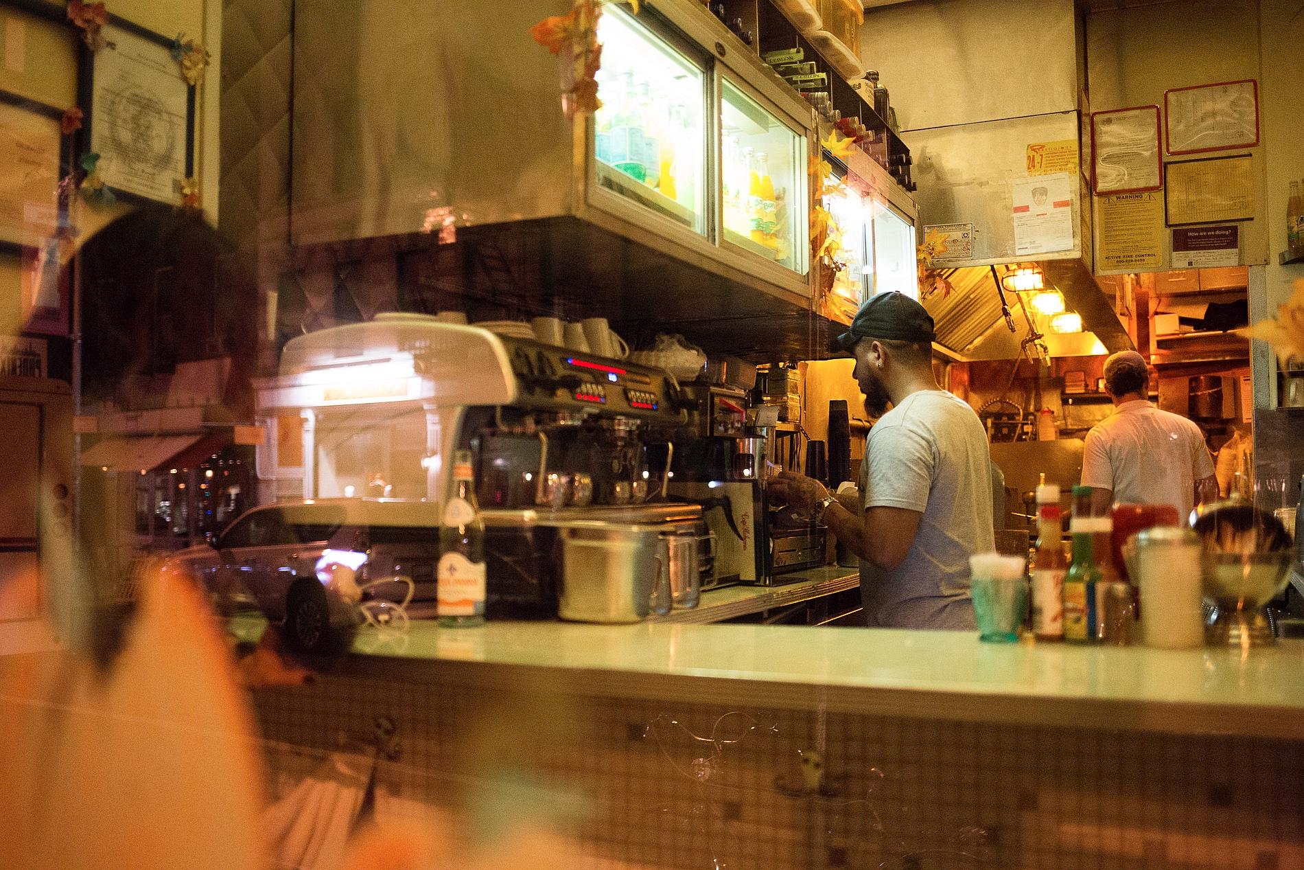Bar Barista Bowery Street