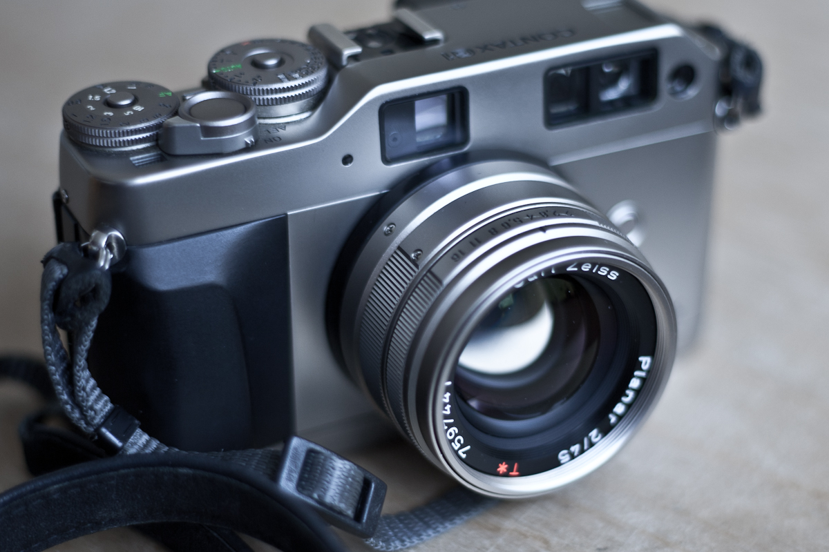 Contax G1 - meine analoge Reportage Kamera