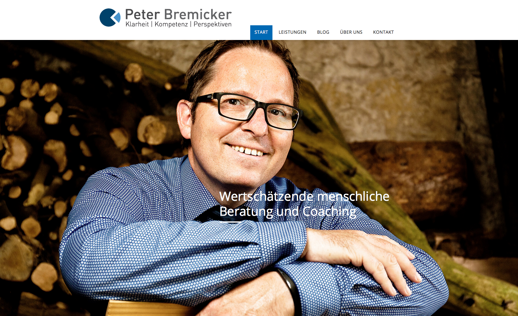 Business Portrait Peter Bremicker